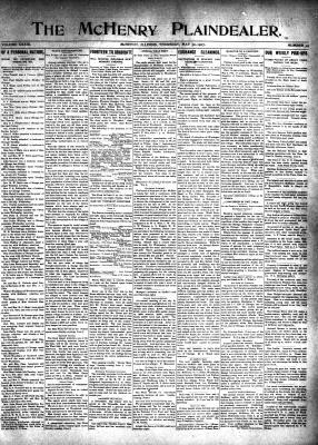 McHenry Plaindealer (McHenry, IL), 30 May 1907