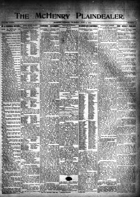McHenry Plaindealer (McHenry, IL), 13 Jun 1907