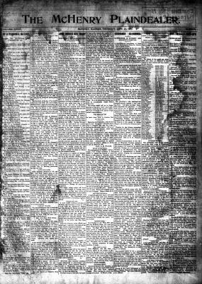 McHenry Plaindealer (McHenry, IL), 27 Jun 1907