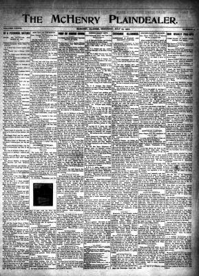 McHenry Plaindealer (McHenry, IL), 25 Jul 1907