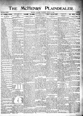McHenry Plaindealer (McHenry, IL), 22 Aug 1907
