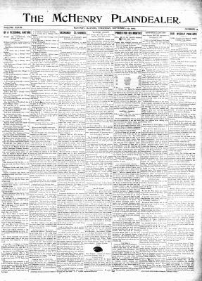 McHenry Plaindealer (McHenry, IL), 19 Sep 1907