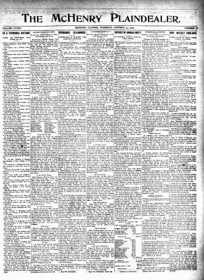 McHenry Plaindealer (McHenry, IL), 24 Oct 1907