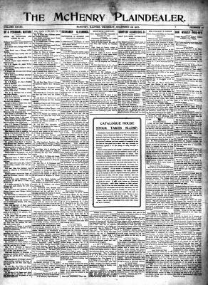 McHenry Plaindealer (McHenry, IL), 26 Dec 1907
