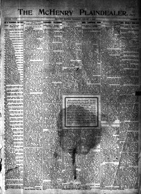 McHenry Plaindealer (McHenry, IL), 2 Jan 1908