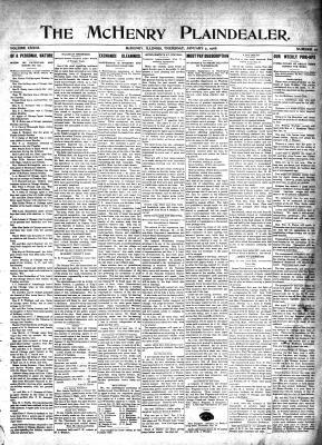 McHenry Plaindealer (McHenry, IL), 9 Jan 1908