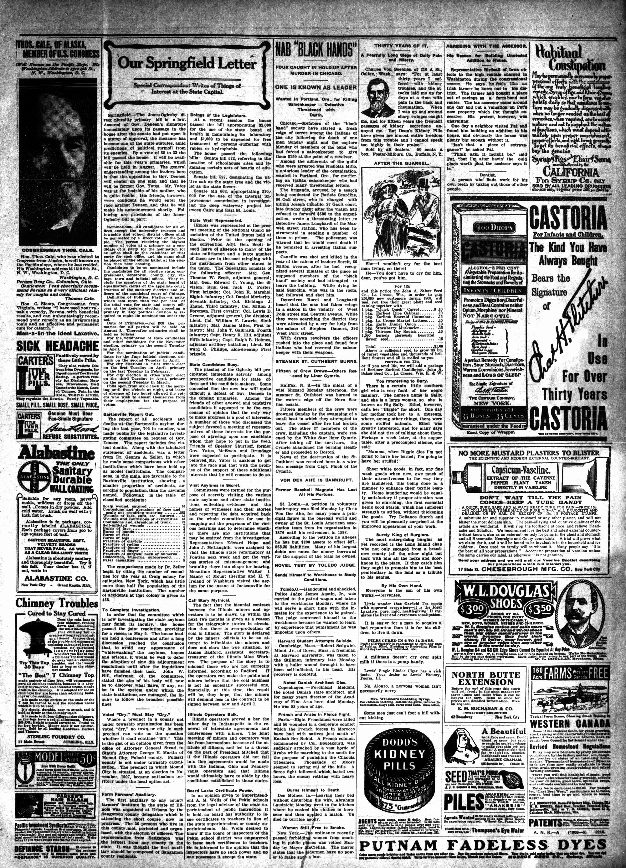 McHenry Plaindealer (McHenry, IL), 6 Feb 1908