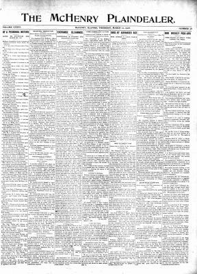 McHenry Plaindealer (McHenry, IL), 12 Mar 1908