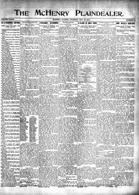 McHenry Plaindealer (McHenry, IL), 28 May 1908