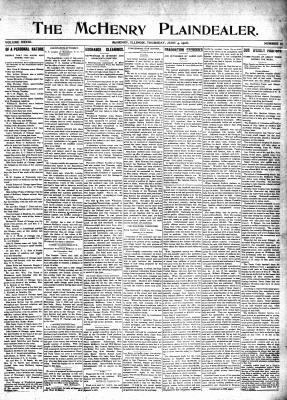 McHenry Plaindealer (McHenry, IL), 4 Jun 1908