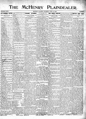 McHenry Plaindealer (McHenry, IL), 25 Jun 1908