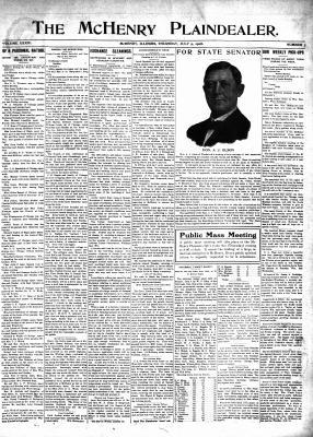 McHenry Plaindealer (McHenry, IL), 9 Jul 1908