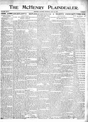 McHenry Plaindealer (McHenry, IL), 30 Jul 1908