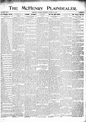 McHenry Plaindealer (McHenry, IL), 27 Aug 1908