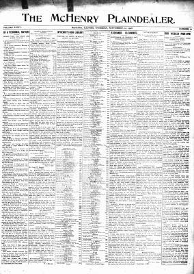 McHenry Plaindealer (McHenry, IL), 10 Sep 1908