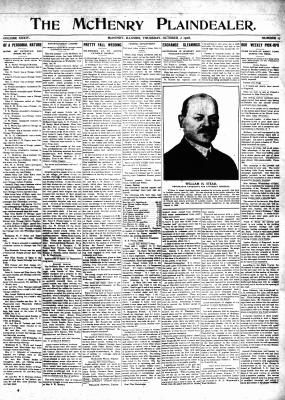 McHenry Plaindealer (McHenry, IL), 15 Oct 1908