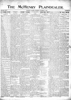 McHenry Plaindealer (McHenry, IL), 22 Oct 1908