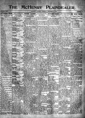 McHenry Plaindealer (McHenry, IL), 10 Dec 1908