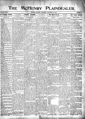 McHenry Plaindealer (McHenry, IL), 31 Dec 1908
