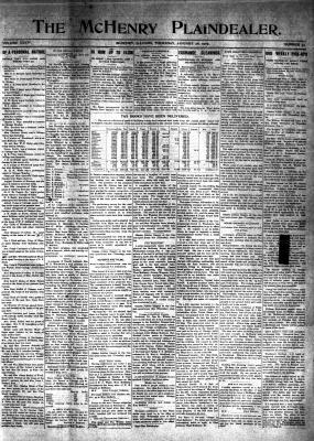 McHenry Plaindealer (McHenry, IL), 28 Jan 1909