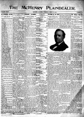 McHenry Plaindealer (McHenry, IL), 18 Mar 1909