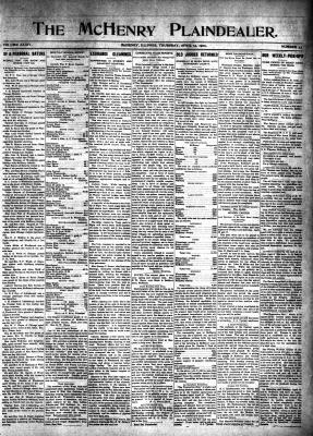 McHenry Plaindealer (McHenry, IL), 15 Apr 1909