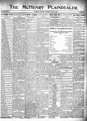 McHenry Plaindealer (McHenry, IL), 27 May 1909