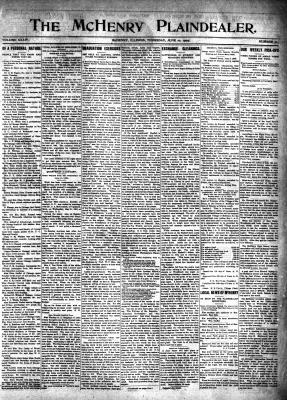 McHenry Plaindealer (McHenry, IL), 10 Jun 1909