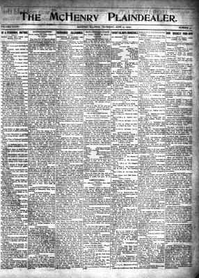 McHenry Plaindealer (McHenry, IL), 17 Jun 1909