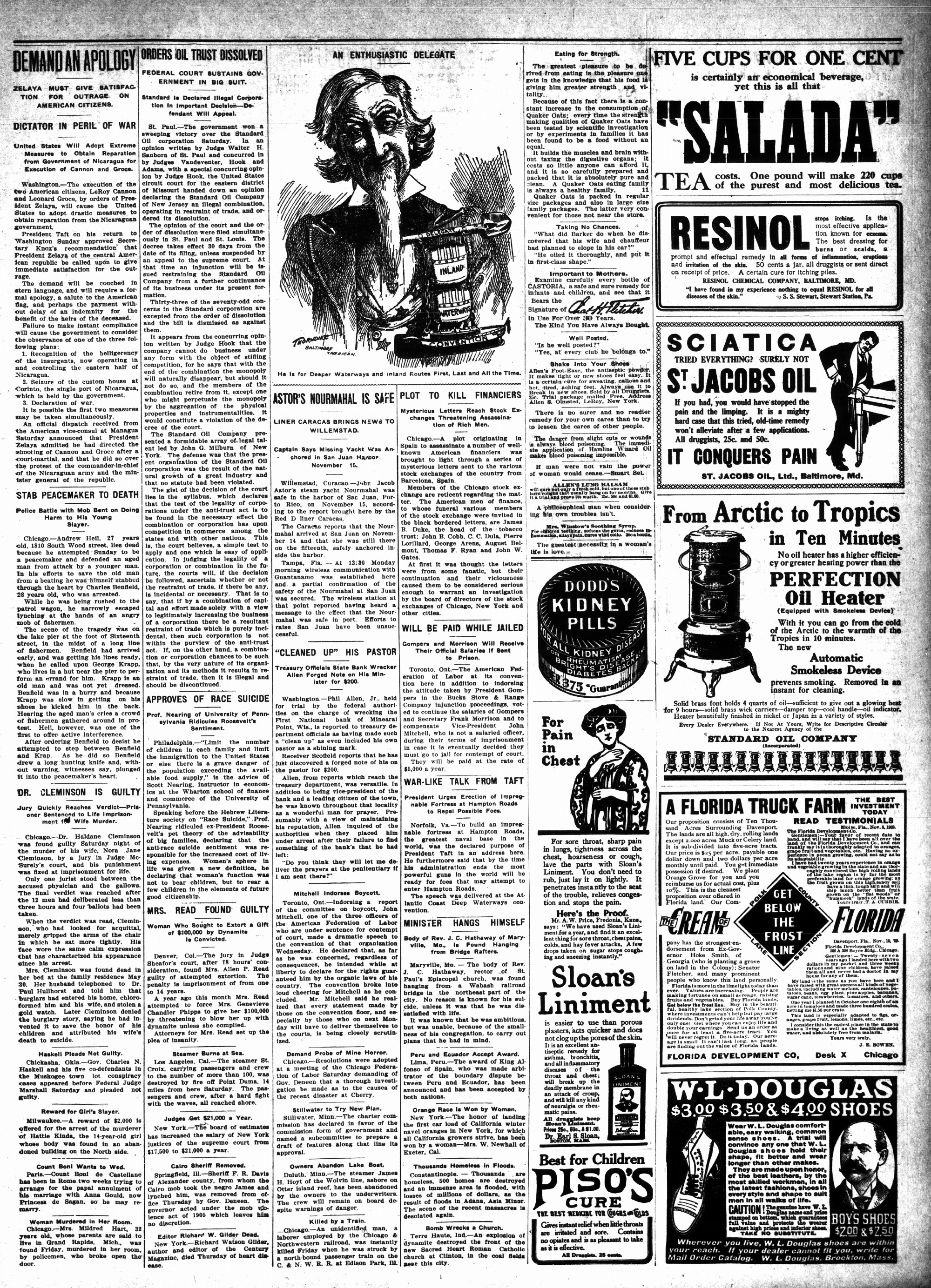 McHenry Plaindealer (McHenry, IL), 25 Nov 1909