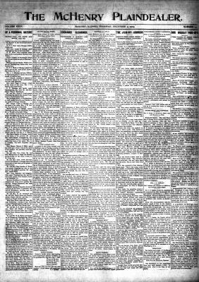 McHenry Plaindealer (McHenry, IL), 2 Dec 1909