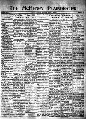 McHenry Plaindealer (McHenry, IL), 13 Jan 1910