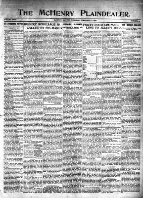 McHenry Plaindealer (McHenry, IL), 17 Feb 1910