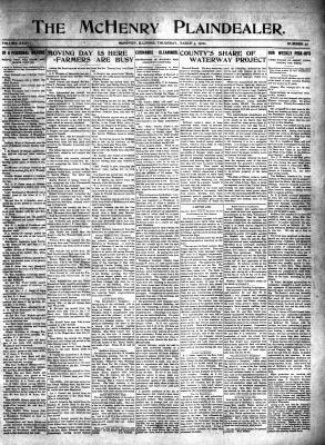 McHenry Plaindealer (McHenry, IL), 3 Mar 1910