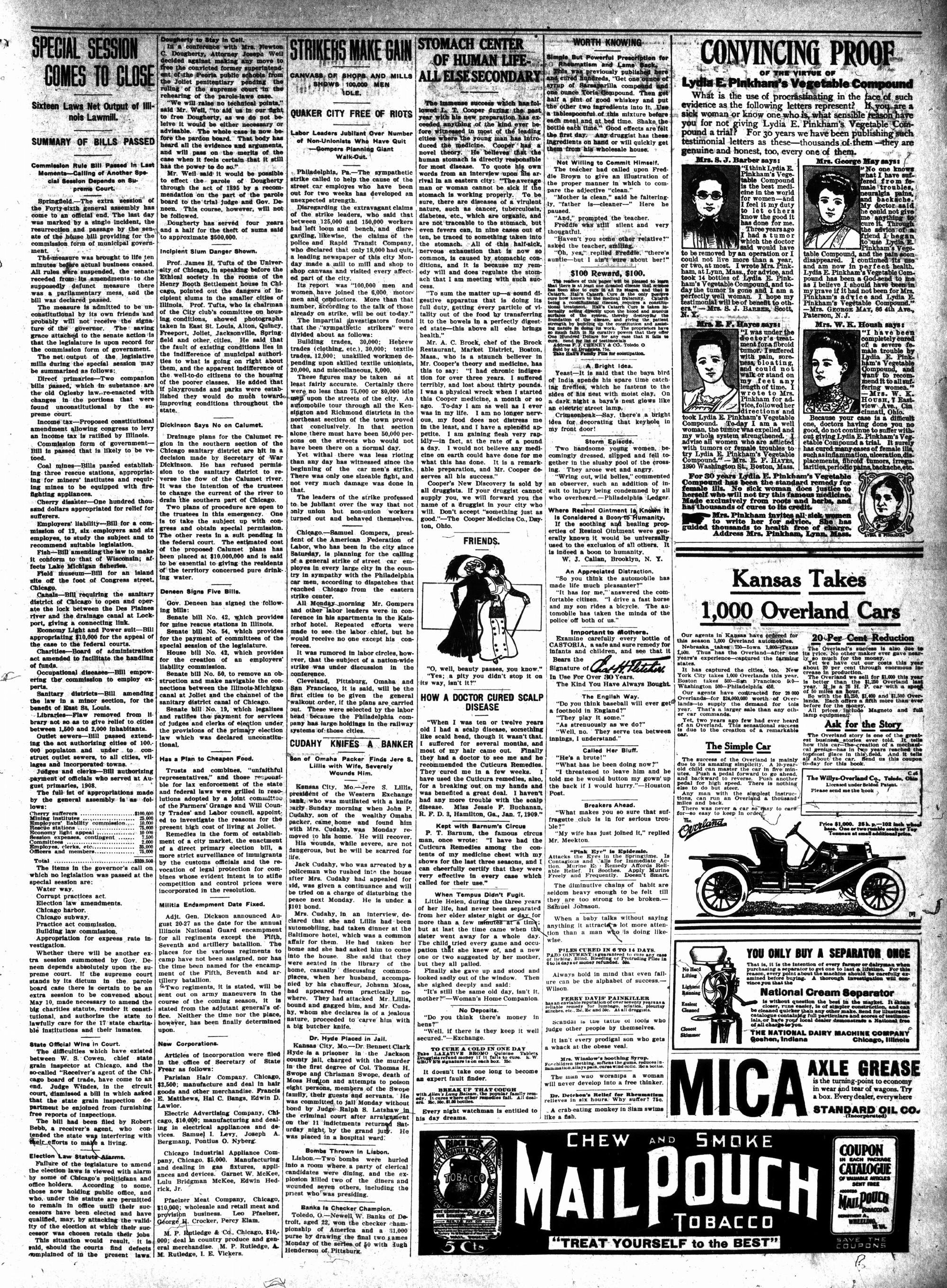 McHenry Plaindealer (McHenry, IL), 10 Mar 1910