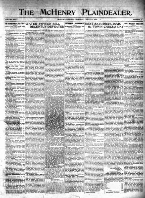 McHenry Plaindealer (McHenry, IL), 17 Mar 1910