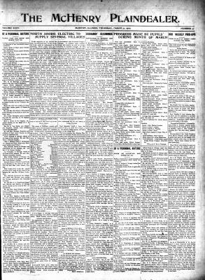 McHenry Plaindealer (McHenry, IL), 31 Mar 1910