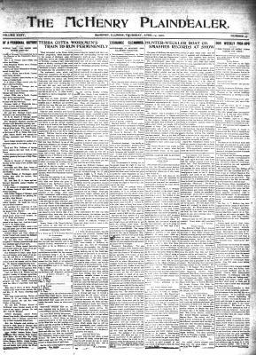 McHenry Plaindealer (McHenry, IL), 14 Apr 1910