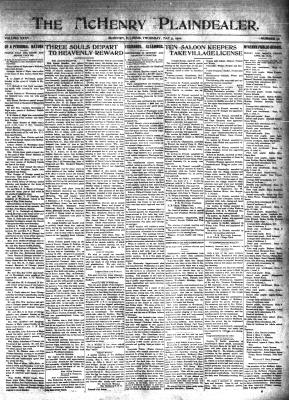 McHenry Plaindealer (McHenry, IL), 5 May 1910