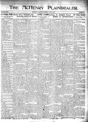 McHenry Plaindealer (McHenry, IL), 12 May 1910