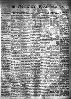 McHenry Plaindealer (McHenry, IL), 19 May 1910