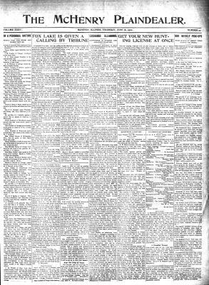 McHenry Plaindealer (McHenry, IL), 16 Jun 1910