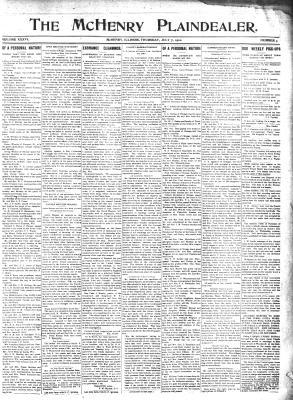 McHenry Plaindealer (McHenry, IL), 7 Jul 1910