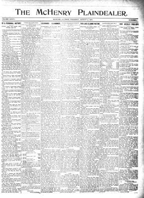 McHenry Plaindealer (McHenry, IL), 4 Aug 1910