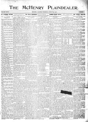 McHenry Plaindealer (McHenry, IL), 25 Aug 1910