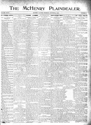 McHenry Plaindealer (McHenry, IL), 13 Oct 1910