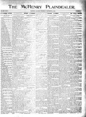 McHenry Plaindealer (McHenry, IL), 3 Nov 1910