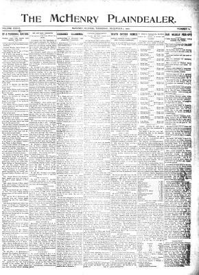 McHenry Plaindealer (McHenry, IL), 1 Dec 1910