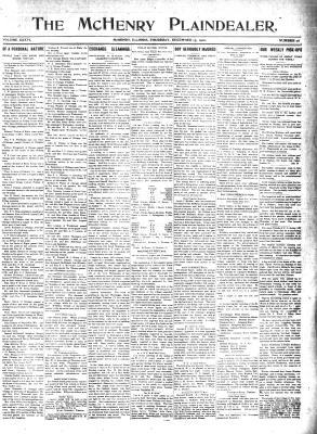 McHenry Plaindealer (McHenry, IL), 15 Dec 1910