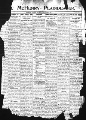 McHenry Plaindealer (McHenry, IL), 5 Jan 1911